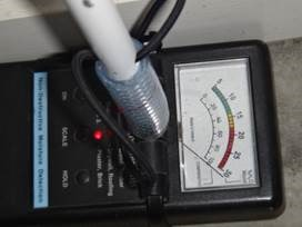 BPI - Moisture Meter for assessing Moisture, Leaks and Termites
